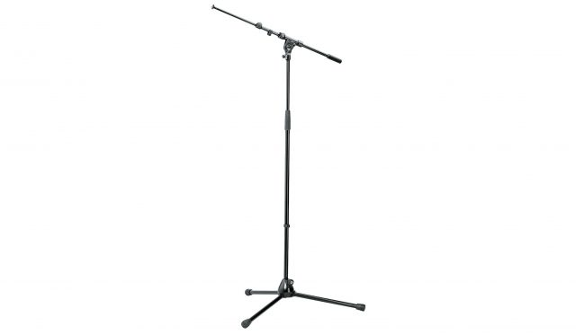 Mikrofonstativ K&M 210/9 Black