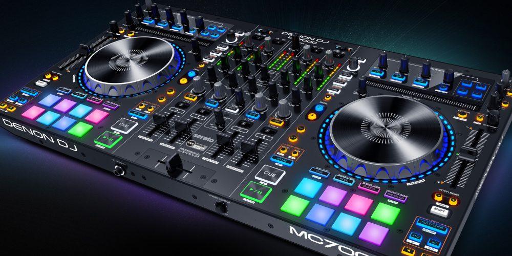 Jetzt neu bei www.djbenhh.de, der DJ Controller Denon DJ MCX8000
